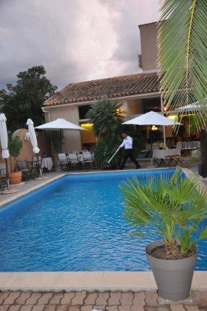 Oletta, Francia: La piscine