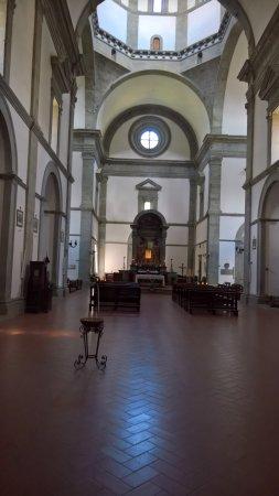 Santa Maria del Calcinaio: Church inside