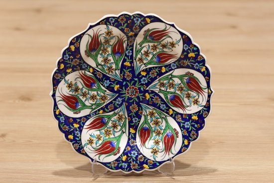 tuncer gift shop turkish plate