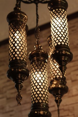 tuncer gift shop turkish lamp