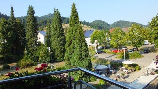 Schenkenzell, Germania: View from Balcony.