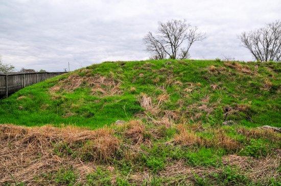 เมอร์ฟรีสโบโร, เทนเนสซี: Large Earthworks Remain