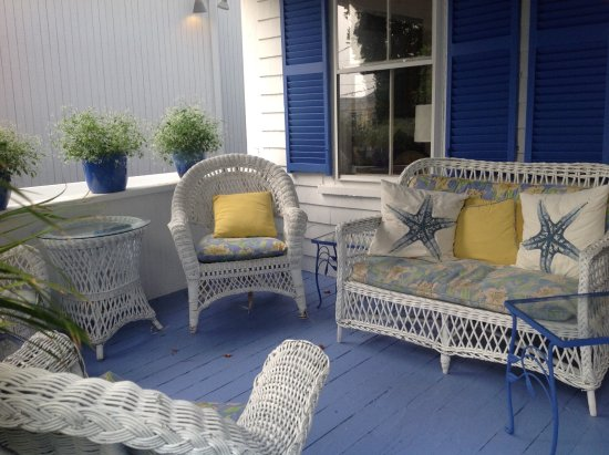 Marblehead, MA: Front porch