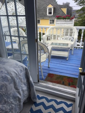Marblehead, MA: Our balcony