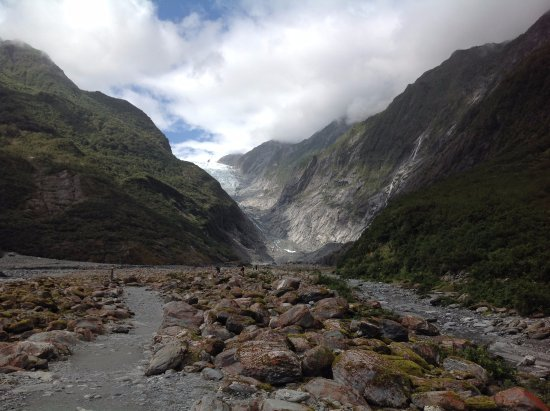 Fox Glacier, New Zealand: 來看冰河