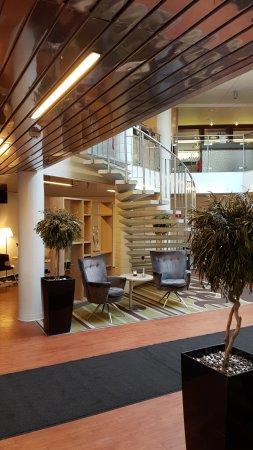 Arlandastad, Svezia: Nice lobby area