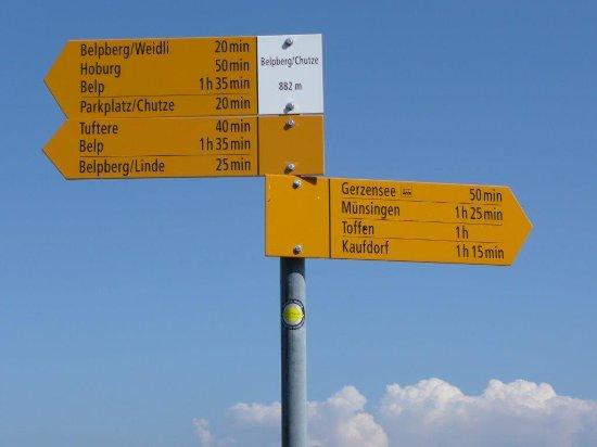 Belp, สวิตเซอร์แลนด์: Wanderwege