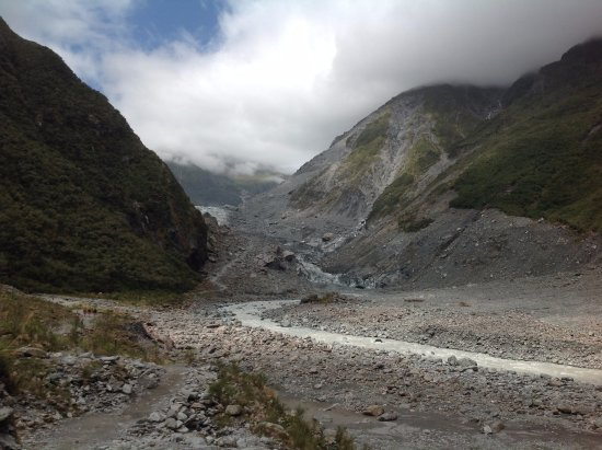 Fox Glacier, New Zealand: 來看冰河