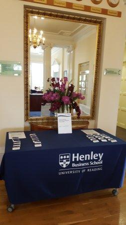 Henley-on-Thames, UK: PARA LAS REUNIONES 