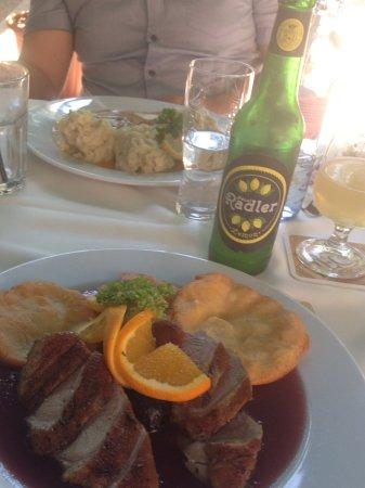 Tettye Restaurant : Krumplilángosos köret