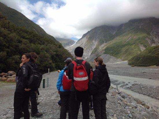 Fox Glacier, Neuseeland: 冰河健行
