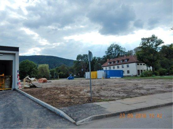 Bad Blankenburg, Germany: Ausblick vor dem Haus