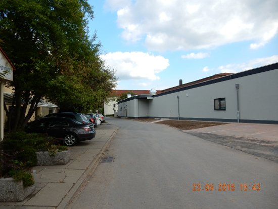 Bad Blankenburg, Germany: Hotelparkplatz