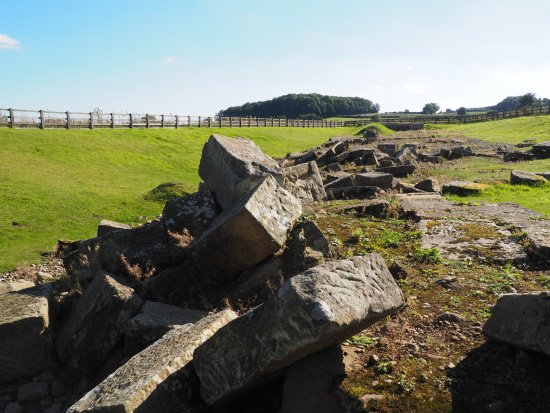 Piercebridge, UK: Ruins 4