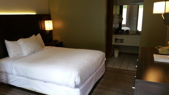 Fall Creek Inn & Suites: Luxury 1 Queen