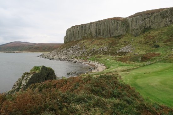 Blackwaterfoot, UK: The Doon (viewed from the south-west)