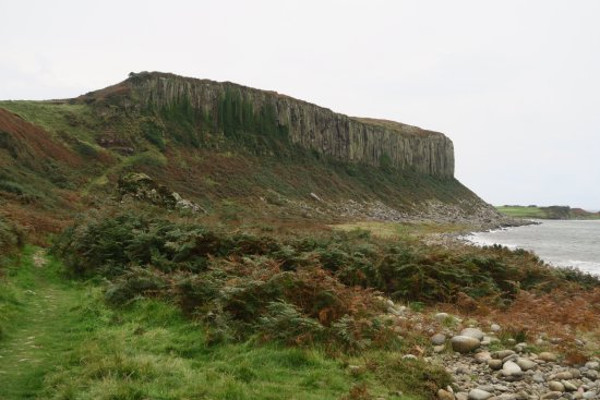 Blackwaterfoot, UK: The Doon (viewed from the north