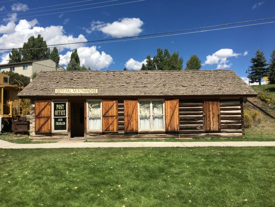 Eagle, CO: Old General Merchandise building at tourist center