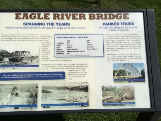 Eagle, CO: About the bridge