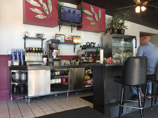 Chesterland, OH: The interior at Silver Skillet