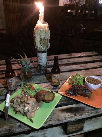 Palomino, Colômbia: Deliciosa comida, ambiente y maravilloso servicio!!!! Un lugar sensacional para disfrutar!!