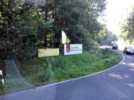 Koenigstein, Alemania: depart!