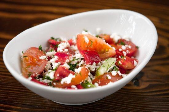 Newton, MA: Salata Taraneasca (Country Style Salad_