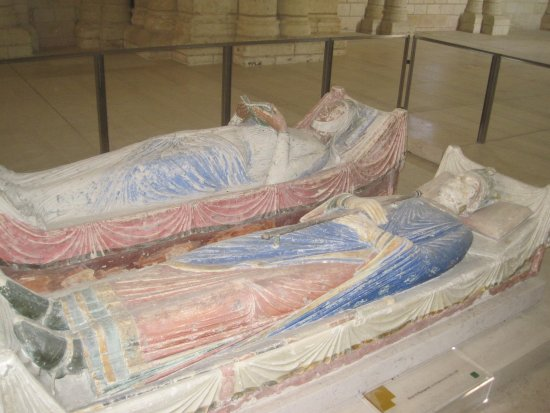 Fontevraud-l'Abbaye, Francia: Eleanor and Henry 2nd.