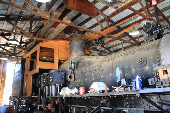 Placerville, CA: Steam Locomotive