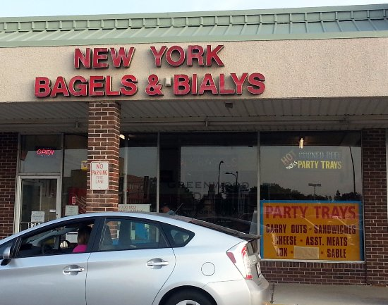 Niles, IL: Front to New York Bagels & Bialys
