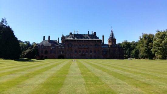 Mount Stuart: View from the extensive grounds.