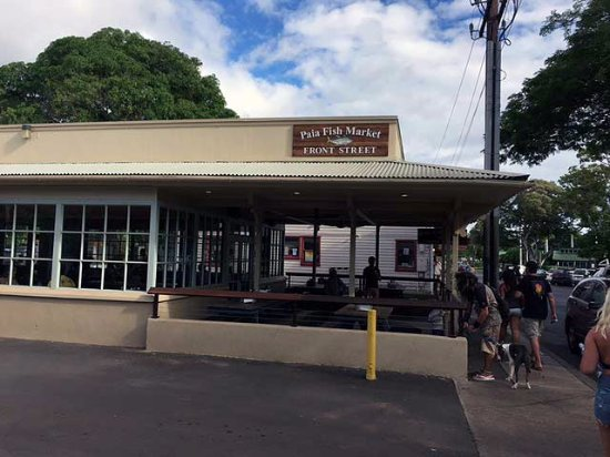 paia fish market restaurant right on front street