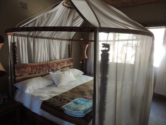Cape Maclear, Malaui: Ruime kamers