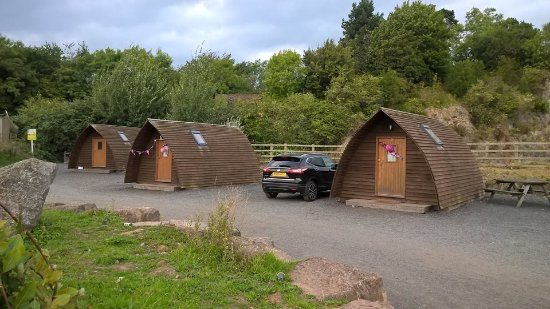 Chepstow, UK: Standard wigwam village