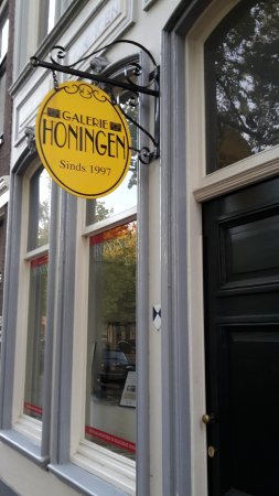 Gallery Honingen: since 1997.... the sign suggests a couple of decades earlier :-)