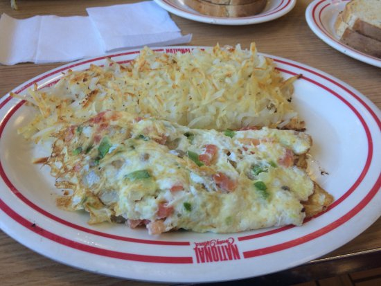 Utica, Мичиган: Breakfast special and vegetable omelette