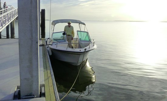 Fernandina Beach, Floride : Capt. Flip Gallion at Cumberland Island National Seashore
