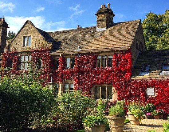 Autumn at Baslow Hall