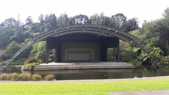 New Plymouth, Nueva Zelanda: where they have concerts