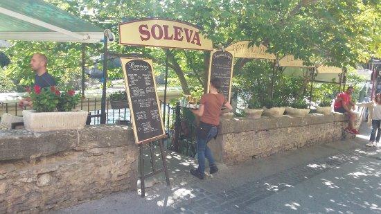 Provence, Fransa: cafe