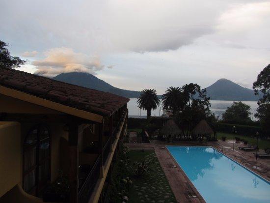 Santa Catarina Palopo, กัวเตมาลา: Vistas desde la habitación
