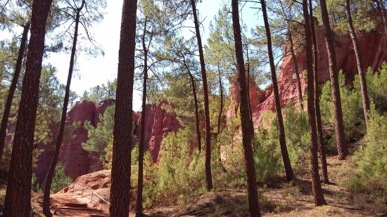 Roussillon, فرنسا: carrieres