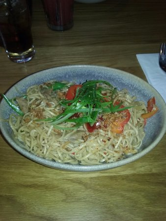 Stansted Mountfitchet, UK : Yummy Chicken Noodles!