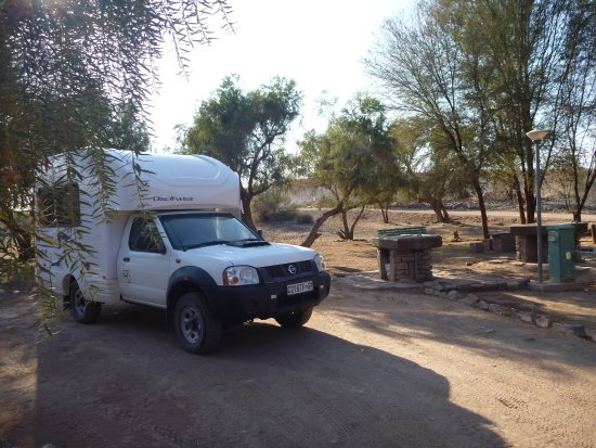 Nwr Hobas Campsite