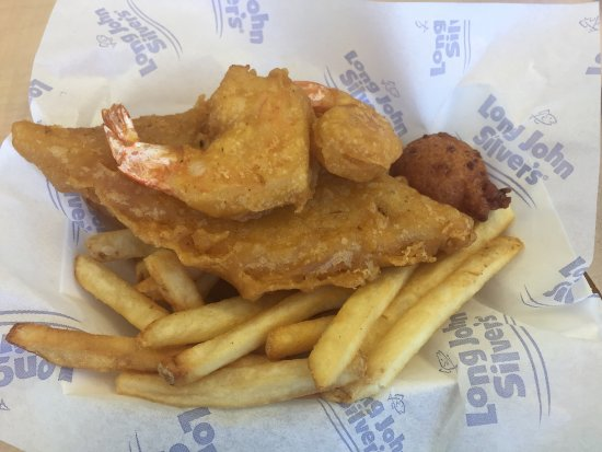 Clearfield, Pensilvania: $5 box meal fish/shrimp with fries