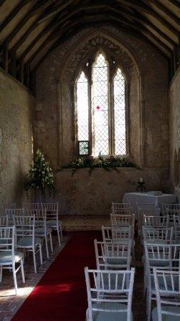 Climping, UK: Chapel interior
