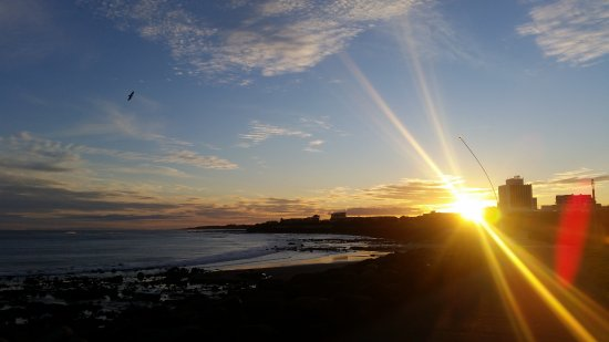New Plymouth, Selandia Baru: lovely sunsrise