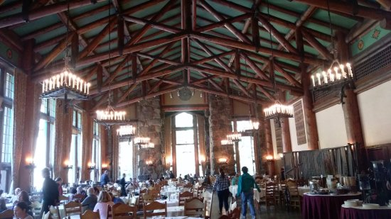 dining room, majestic hotel - picture of the majestic yosemite