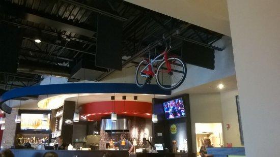 Hoover, AL: Brixx decor and bar
