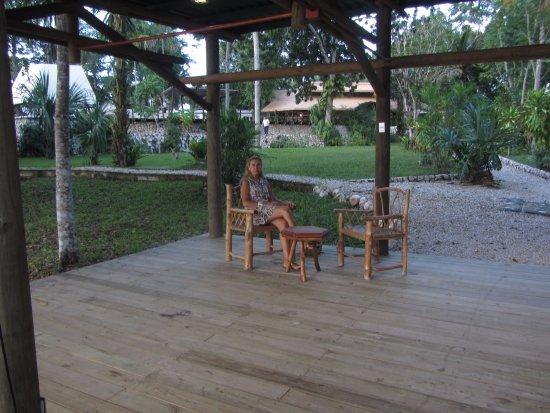 Villa Maya: Jardines